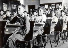 """After their efforts in the war, Native Canadians were hoping for a warm welcome home and to gain respect. Instead, their efforts went unnoticed and were instead still treated unfairly. They tried to protest to gain rights but instead the Canadian Government issued the Indian Act. This act stated that all Native children were required to go to Residential Schools. These schools were run by churches and the idea of them was to """"kill the Indian in the child"""" and make them more like white…"""