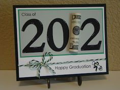 Hello everyone! Well, graduation season is upon us. I think I've made five graduation cards so far. And today I have what I think is my . Scrapbooking, Scrapbook Cards, Gift Cards Money, Graduation Cards, Congratulations Card, Creative Cards, Graduation Gifts, Graduation Ideas, Homemade Cards
