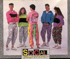 80's cartoon pants, I had a Tom & Jerry one that I lived in :D