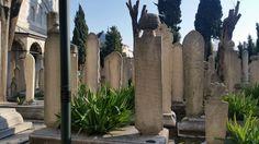 Szulejmán dzsámi temető Isztambul