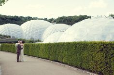 Eden Project wedding - photo by Eliza Claire Photography