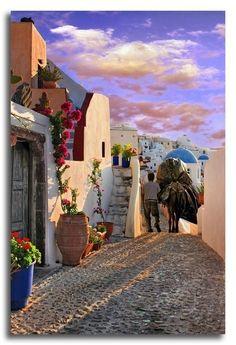 Oia, Santorini Island, Cyclades Greece