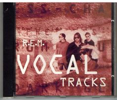 R. E. M. CD Single EP Vocal Tracks WEA German release #SingerSongwriterAlternativeIndieProgressiveArtRock