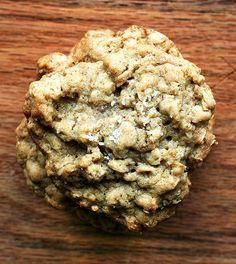 salted oatmeal cookies
