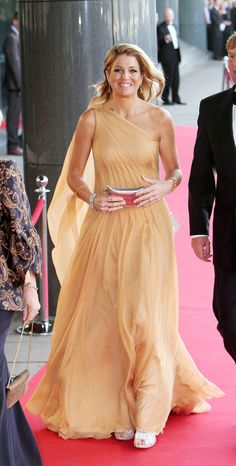 Crown Princess Maxima of the Netherlands during her fortieth birthday celebrations.