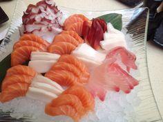 Sashimi @ Heart Sushi, Mississauga, Ontario, Canada.