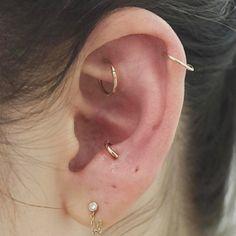 Untraditional Ear Piercings