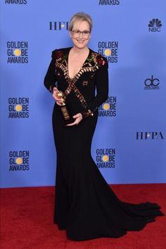 2017 Golden Globes Meryl Streep