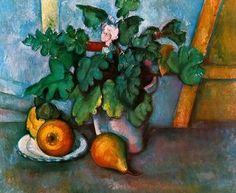 Cézanne. flowers and pears. Google Image Result for http://4.bp.blogspot.com/-ABZFpe64wNA/T3X3-Q8GA4I/AAAAAAAAD9Q/t6md853l0V4/s400/Paul-Cezanne-Flowers-and-Pears-1888-165507.jpg