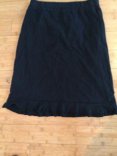 Check out Fresh Produce Black Skirt on Threadflip!