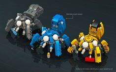 """Tachikoma Trio ( 2015 Edition)"" by wolf.leews-無: Pimped from Flickr"