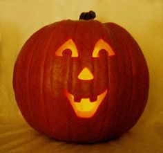 pumpkin carving happy face - Google Search