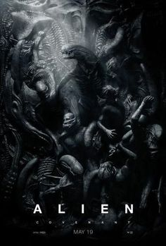 Alien Covenant Movie poster Metal Sign Wall Art 8in x 12in