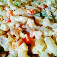 Chicken Macaroni Salad by #edonnabelle #filipinostyle