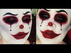Image result for creepy circus makeup