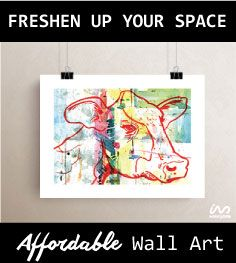 Unique, gallery quality art prints sized to fit standard frame sizes.  Update your space while supporting independent artist.  WalkingDots pledges to support independent artists and fill the word with unique and expressive art.