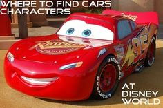Great information to help you find Lightning McQueen, Mater, and the other Cars characters at Disney World; see:http://www.buildabettermousetrip.com/cars