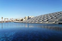 Bibliotheca Alexandrina is a commemoration of the ancient Library of Alexandria in Egypt's second largest city.