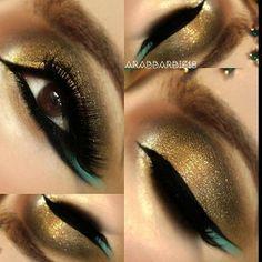 Arabic eye #makeup
