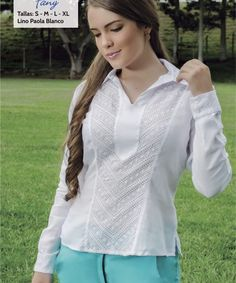 Sensación | Categorías de los productos | Bordados Janette - Ropa para dama, hombres y niños, Cartago, Colombia Fashion Sewing, Ruffle Blouse, Clothes, Women, Design, Lace Blouses, Clothing Templates, Women's Blouses, Block Prints