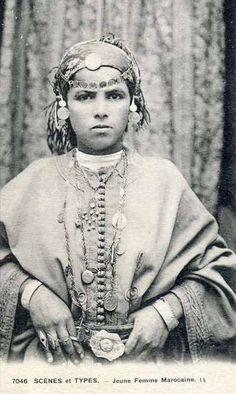 Caftan teen Vintage Morocco