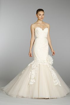 lazaro wedding dress Lazaro Spring 2014 Wedding Dresses