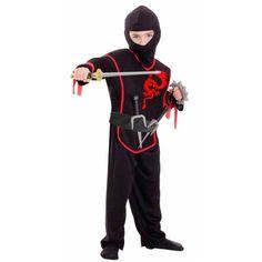 Set déguisement ninja 3-5 ans - Annikids