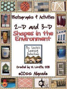 Focus...Click! 2D/3D Shapes in the Environment (Photographs and Activities) Freebie sample activity included