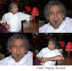 UK Iron Chef Sanjay Dwivedi  @ Zaika Restaurant London [photo by Orsola Ciriello-Kogan]