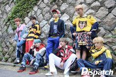 Kim Nam Joon, Kim Seok Jin, Min Yoon Gi, Jung Ho Seok, Park Ji Min, Kim Tae Hyung, Jeon Jung Kook. BTS!