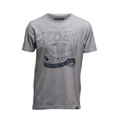 T-Shirt THE JOURNEY Photographers, Organic Cotton, Heather Grey, Journey, Stylish, Tees, Mens Tops, T Shirt, Fashion