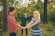Casal faz fotos de casamento fugindo do Jason Voorhees