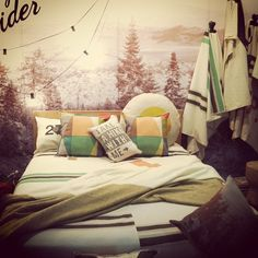 Pony Rider bedding from their glamping range