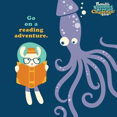 Go on a reading adventure this weekend!