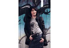 Robyn Look 2 Military Jacket, High Fashion, Street Wear, Unisex, Denim, Jackets, Collection, Down Jackets, Field Jacket
