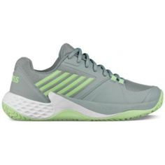 K-Swiss Women s Aero Court Tennis Shoes (Abyss Paradise Green)  94.95 bdf9b07191b