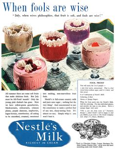 1954 Nestlé's Milk ad | Flickr - Photo Sharing!