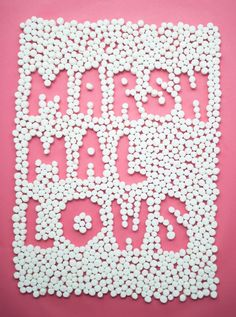 Marshmallow chapter from Candy Aisle Crafts