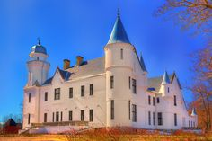 Castle like in fairytale. In Alatskivi, Estonia.