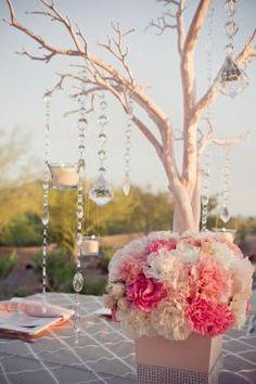 Réception de mariage: des centres de tables originaux Décoration et tendances