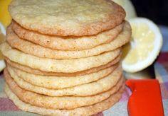 Day 71 - Lemon Sugar Snaps - 365 Days of Baking