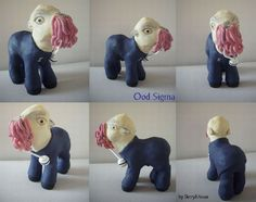 My little Pony Custom Doctor Who Ood by BerryMouse.deviantart.com