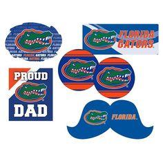 Florida Gators Proud Dad 6-Piece Decal Set, Multicolor