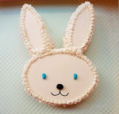 Decorating Bunny and Monkey Cakes - Living in the Family Room Blog - Martha Stewart