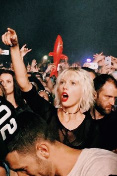 Taylor at Coachella 2016.