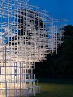 Serpentine Pavilion 2013 - Sou Fujimoto - Photographed by Nick Guttridge