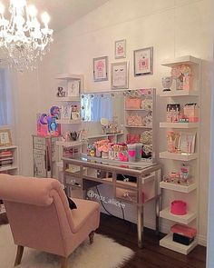 By: Leave tour comment. Cute Bedroom Ideas, Cute Room Decor, Girl Bedroom Designs, Room Ideas Bedroom, Bedroom Decor, Makeup Room Decor, Woman Cave, Glam Room, Stylish Bedroom