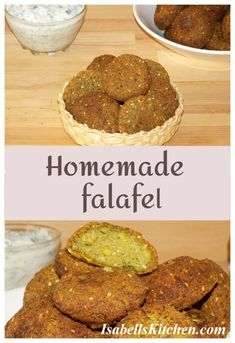 Homemade falafel recipe - isabell's kitchen