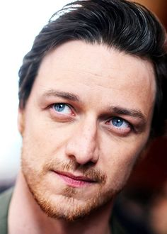 James McAvoy. He has such beautiful eyes...