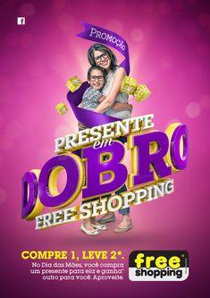 Dia das Mães - Free Shopping on Behance